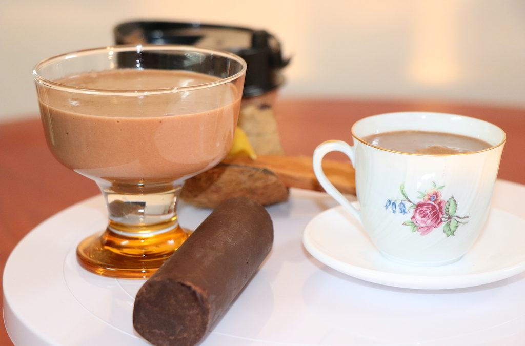 Crème de fruit à pain au cacao